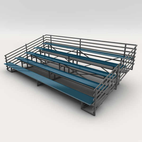 3ds max bleachers 02