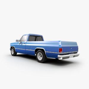 3d chevrolet truck