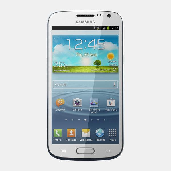 samsung galaxy premier i9260 3d model