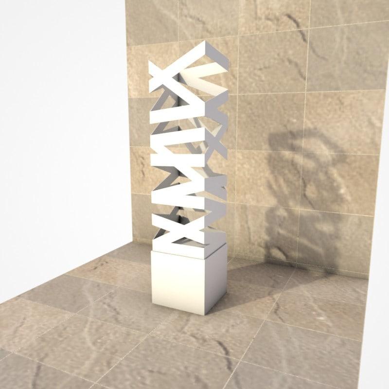 sculpture gary beals 3d model