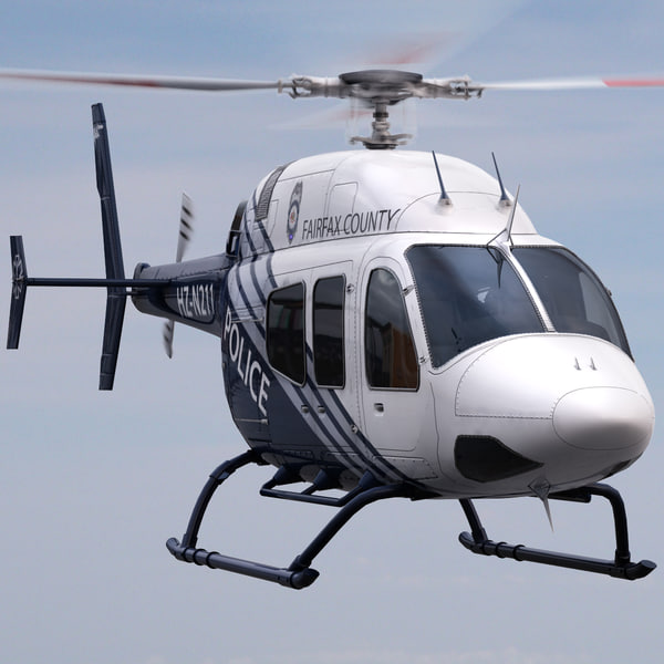 Bell 429 Police Helicopter
