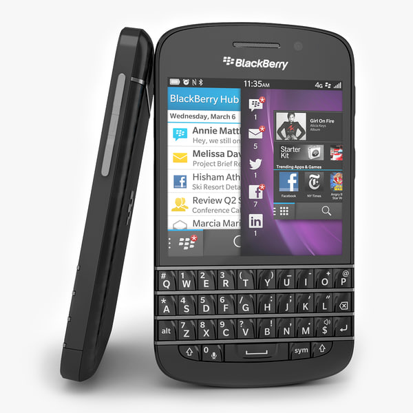 Blackberry Q10 Smartphone Black