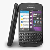 smartphone blackberry q10 black s