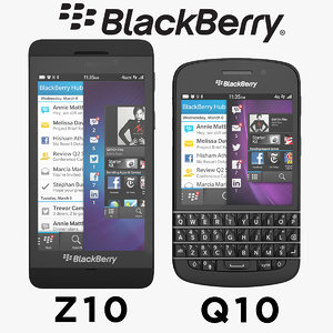 Blackberry Q10 and  Blackberry Z10 Smartphone Collection