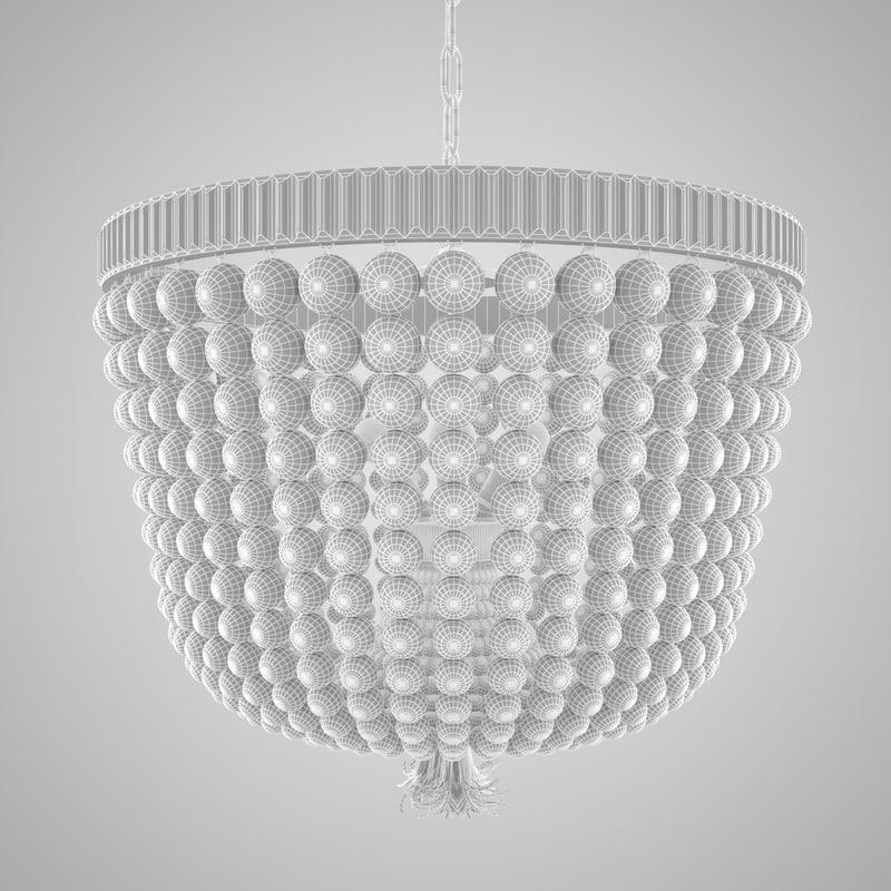 free chandelier 3d model