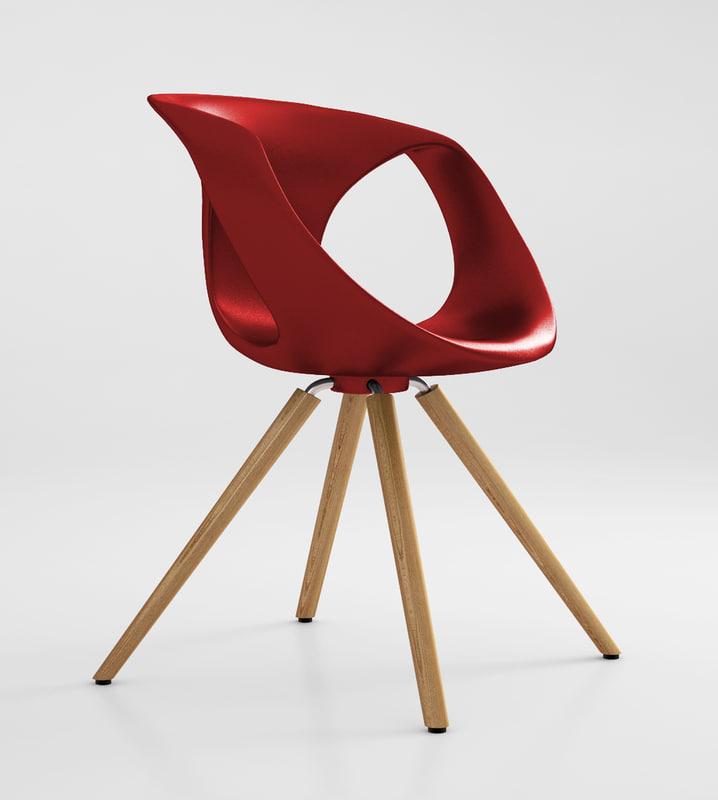 tonon chair 3d model