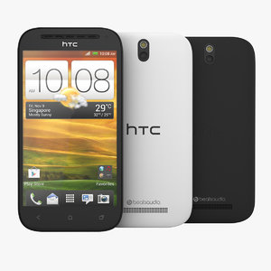 HTC One SV Smartphone Black and White