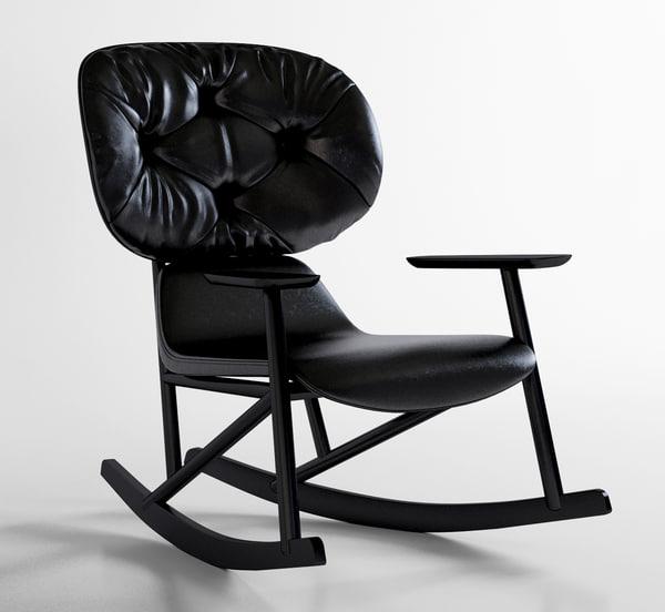 3d model moroso klara leather