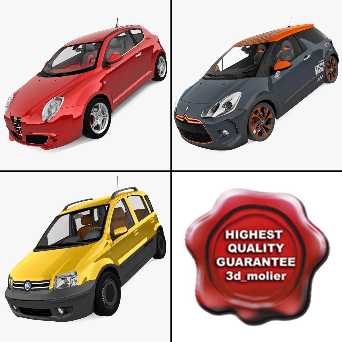 3d small cars 2 model