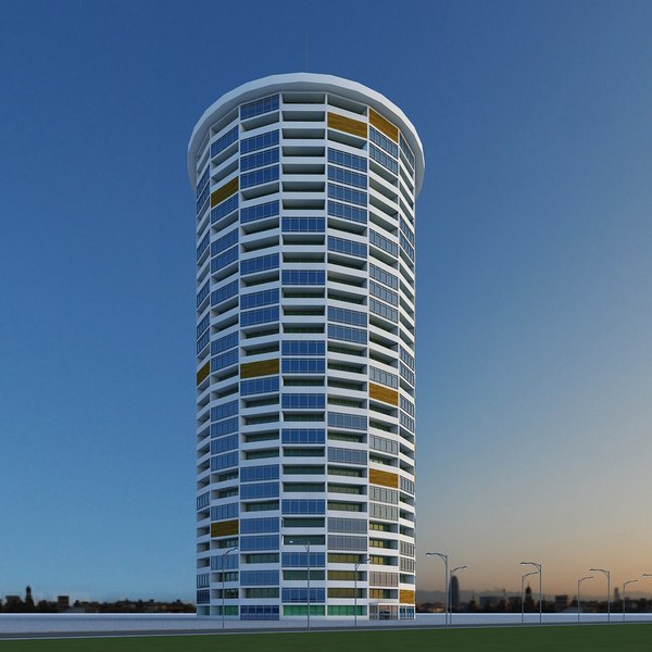 3d model of new skyscraper 11
