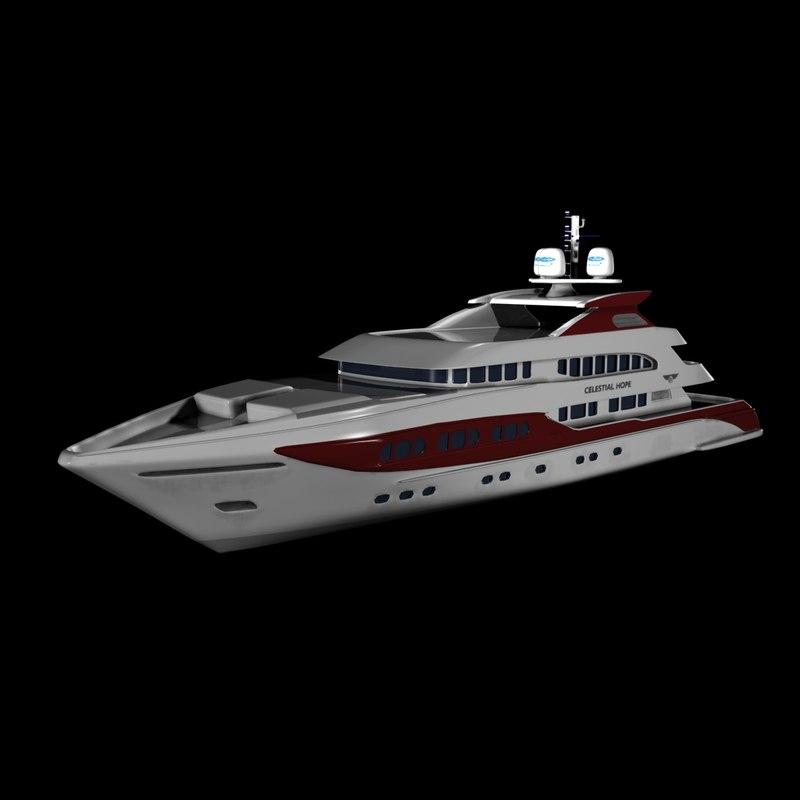 hope celestial yacht max