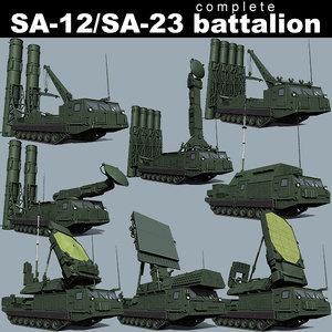 SA-12/SA-23 battalion