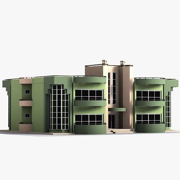 3dsmax skyscraper house