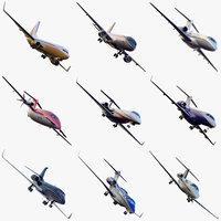 airplanes plane 3d max