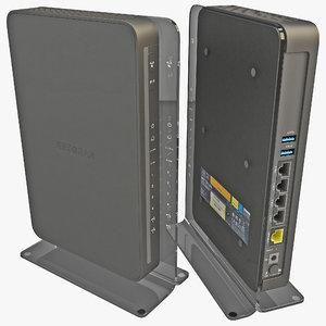 c4d netgear wireless router n900