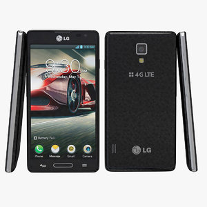 3d lg optimus f7 black model