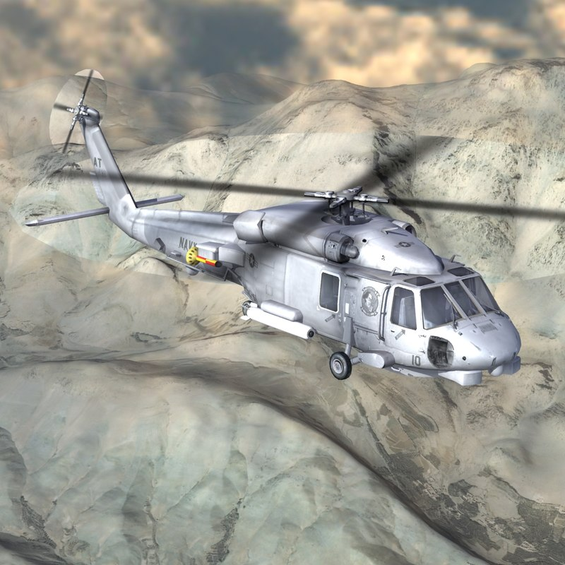 3d sh60 seahawk model