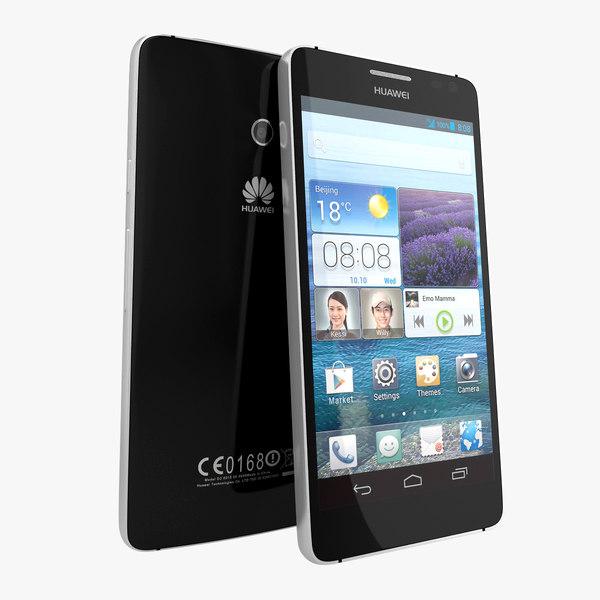 Huawei Ascend D2 Smartphone Black