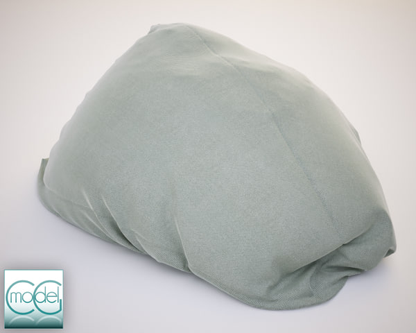 3d fabrics bean bag chair model