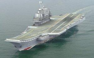 aircraft carrier liaoning cv16 3d model