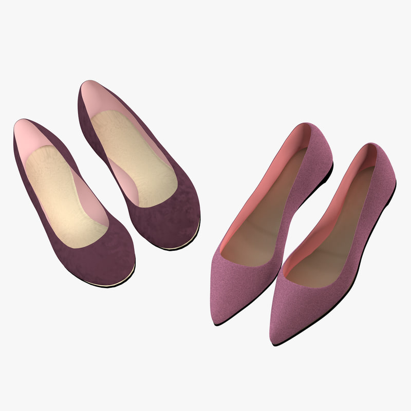 female shoes 3d 3ds