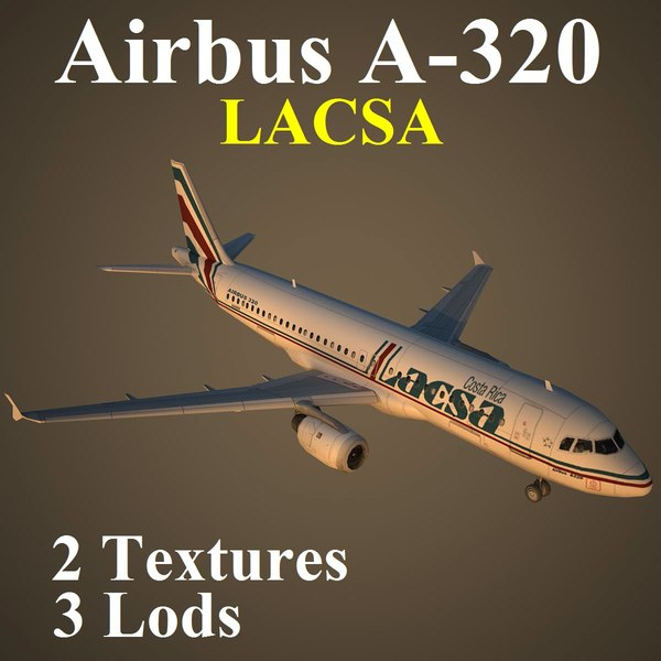 3d airbus lrc model