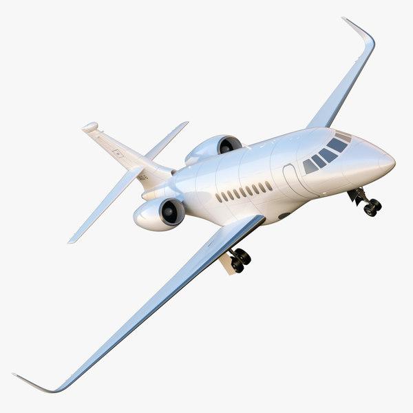 3d model falcon 2000 -