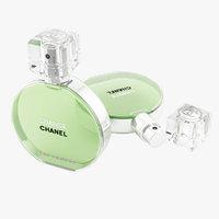 3d parfume chanel chance eau