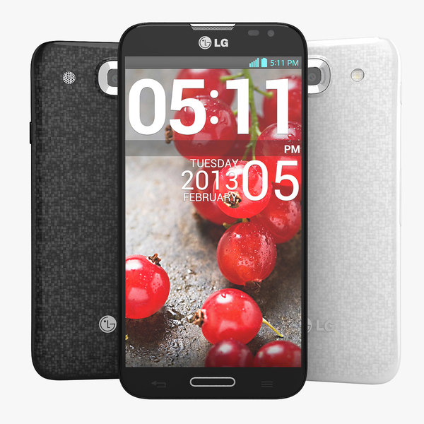 LG Optimus G Pro E985 Smartphone Black And White