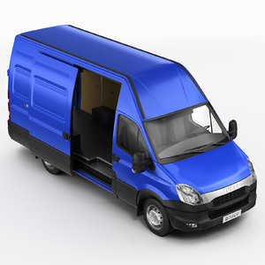 iveco daily 3d model