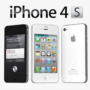 iPhone 4s White & Black