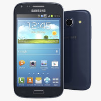 samsung galaxy core blue