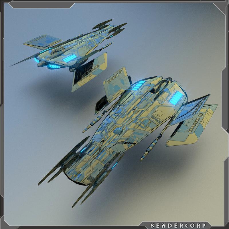 starship gunship blend