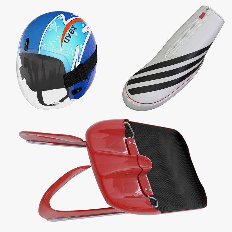 max luge sled helmet