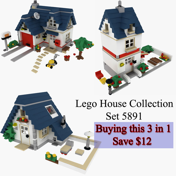 max lego houses set 5891