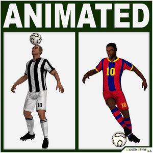team players soccer obj