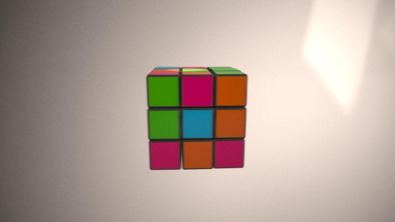 cubes screen tv max