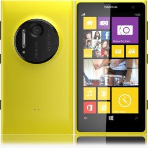 3d max nokia lumia 1020 yellow