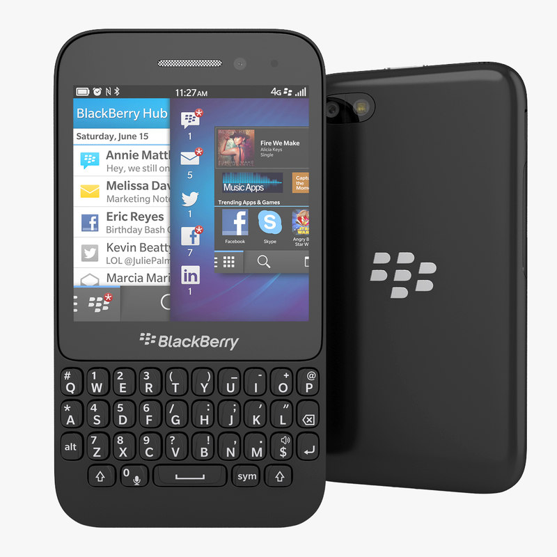 3ds blackberry q5 qwerty smartphone