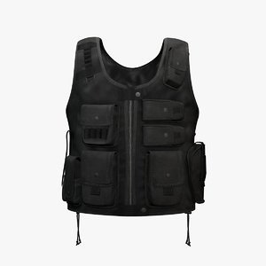 Tactical Entry Vest Black