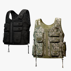 3d tactical entry vest set