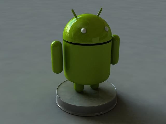 android render 3d model
