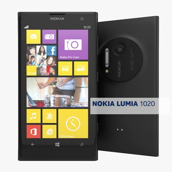 Nokia Lumia 1020 Flagship Smartphone Black