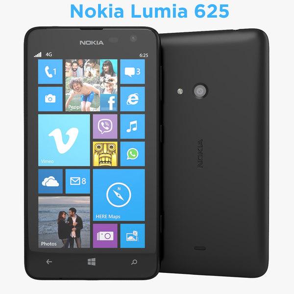 Nokia Lumia 625 Phablet Smartphone