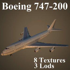 max boeing 747-200