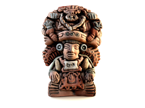 3d decorative mayan god maize model