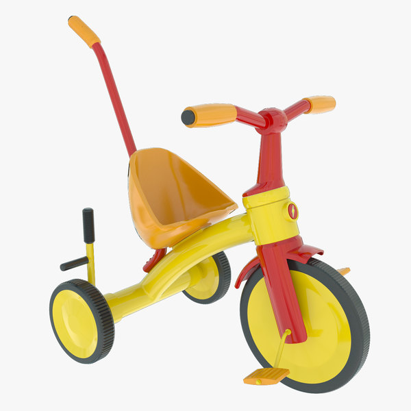 3d children s tricycle model