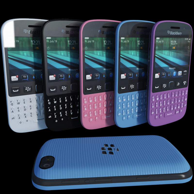 realistic blackberry 9720 color