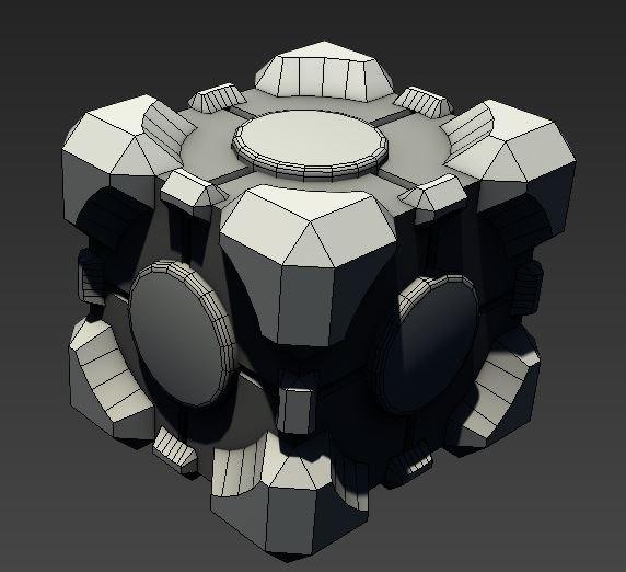 free max mode companion cube portal
