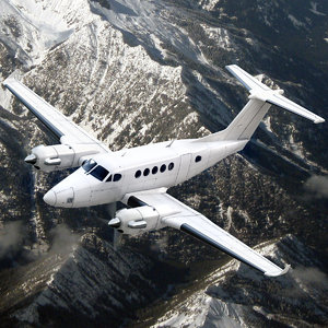 Beechcraft King Air 300 Generic White